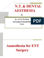 ENT & Dental Anaesthesia 2
