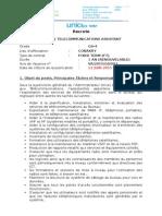 Telecoms Assistant (Ft) Gs4