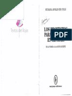Avolio de Cols, Susana – Los Proyectos Para El Trabajo en El Aula - De La Teoría a La Acción Docente - Capítulo IV