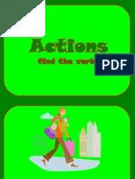 Action Find Verb