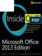 Bott E., Siechert C. - Microsoft Office Inside Out 2013 Edition - 2013