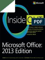 Bott E., Siechert C. - Microsoft Office Inside Out 2013 Edition - 2013