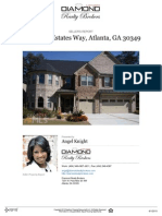 Seller's Property Report Residential