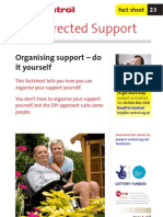 23. OrganisIng Support - Do It Yourself