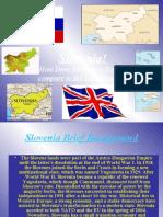 comparison between Slovenia's and UK's economy