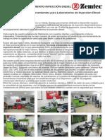 Entrenamiento 2015 Argentina - Zemtec - REPARACION de INYECTORES