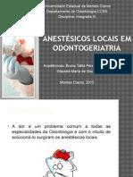 Anestésicos locais em odontogeriatria