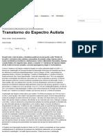 Transtorno Do Espectro Autista - Brasileiros