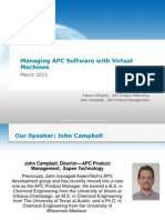 Managing APC Software With Virtual