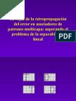Tema 10. La Retropropagacion Del Error
