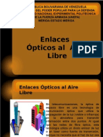 Enlaces Opticos Al Aire Libre