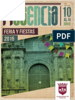 Feria y Fiestas de Plasencia 2015