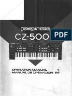 Casio CZ-5000 Owners Manual