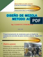 Disenio de Mezclas ACI 211.1