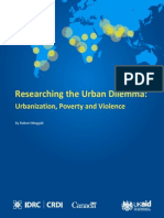 Researching the Urban Dilemma Baseline Study