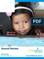 Childreach International Annual Review 2013-2014