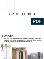 Fundatii Pe Piloti