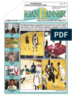 The Michigan Banner June 1, 2015 Edition