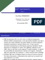 Soft matematic - C1