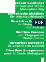Bioengineering Guidelines EU
