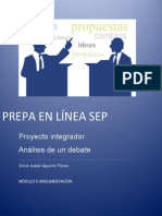 Proyecto Integrador Analisis de Un Debate