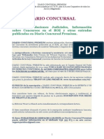 19. Diario Concursal. 1335