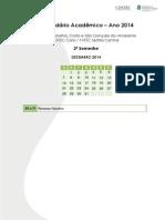 Final Calendario Academico Ano 2015 Geral