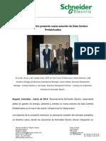 Schneider Electric Presento Nueva Solucion de Data Centers Prefabricados Foto Social ITB