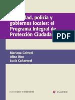 Seguridad, Policía y Gobiernos Locales; Programa Integral de Protrección Ciudadana