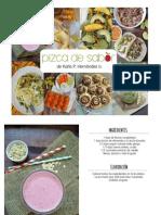 eBook Gratuito de Pizca de Sabor - Especial Para Suscriptores