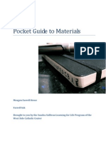 Pocket Guide to Materials
