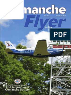 Comanche Flyer / May 2015 | Brake | Airplane