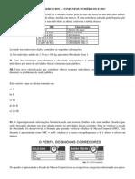 Exercícios - Conjuntos Numéricos e IMC