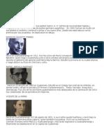 Personajes Importantes de Guatemala