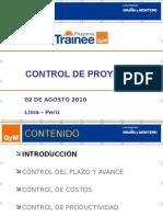 Control de Proyectos - DFE - Rev 01
