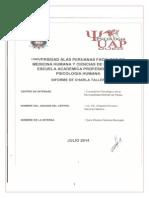 Informe de Proyeccion Social II