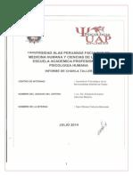 Informe Proyeccion Social IV