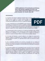 Análisis Ley 29933 y Reglamento Concurso Función Notarial - CAL