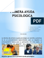 Primera Ayuda Psicologica