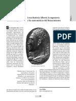PDF Leon Batista Alberti Biografia