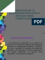 integracion educativa y adecuaciones curriculares