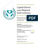 Capital District 2010 Regional Greenhouse Gas Inventory