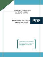 Instructivo doctorado nacional 2014