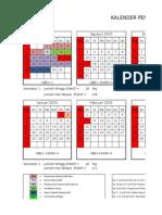 Kalender Pendidikan Tahun Pelajaran 2015-2016