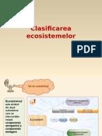 Clasificarea ecosistemelor