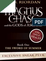 The Sword of Summer excerpt