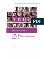 Art of Community Consultation Toolkit - BL England - 2006