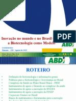 Apresentacao Biotec Wilker ABDI 31 Agosto 2012 - Manaus