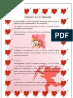 San Valentín en el mundo