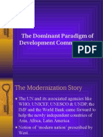 Dominant Paradigm